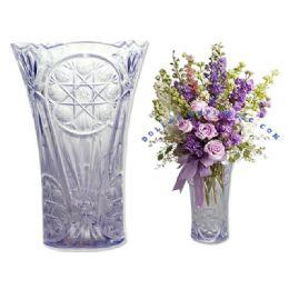 48 Units of flower crystal like vase - Plastic Serving Ware