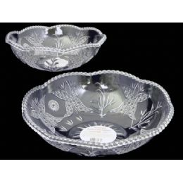 48 Units of round crystal bowl - Plastic Serving Ware