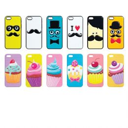 12 Units of Gadgetz iPhone 5 Assorted Cellphone Cover - Cell Phone & Tablet Cases