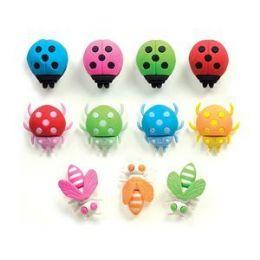 288 Units of Bugs Alive! 3D Eraser - Erasers