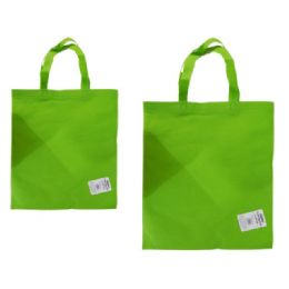 """300 Units of SH0PPING BAG 14.2X17"""" GREEN - Bags Of All Types"""