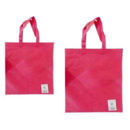 """300 Units of SH0PPING BAG 14.2X17"""" PINK - Bags Of All Types"""
