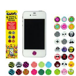 72 Units of Gadgetz Home Button Sticker - Cell Phone Accessories
