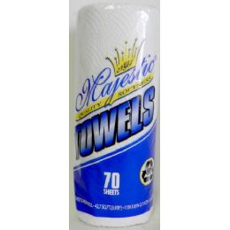 30 Units of Wholesale 70 Sheet 2 Ply Paper Towels - Tissues
