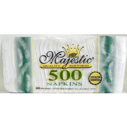12 Units of 500 Paper Napkins - Tissues