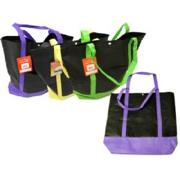 """144 Units of SHOPPING BAG 15.7*16.7*3.7"""" - Bags Of All Types"""