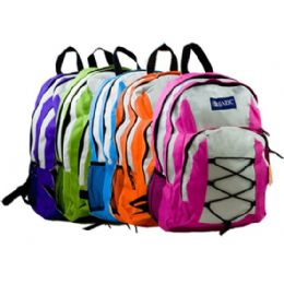 """20 Units of 17"""" Eclipse Multicolor Backpack - Backpacks 17"""""""