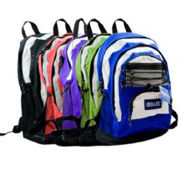 """20 Units of 17 Inches Olympus Multicolor Backpack - Backpacks 17"""""""