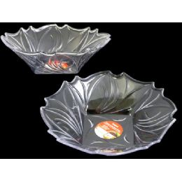 48 Units of Clear Crystal Like Bowl - Plastic Serving Ware