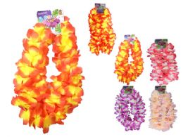 96 Units of 2pc Hawaii Flower Lei - Artificial Flowers