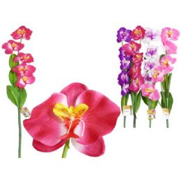 144 Units of 5 Head Orchid Flower - Artificial Flowers