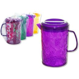 24 Units of Grape Design Water Pitcher - Plastic Drinkware