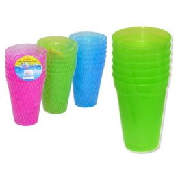 72 Units of 6pc drinking cups - Plastic Drinkware