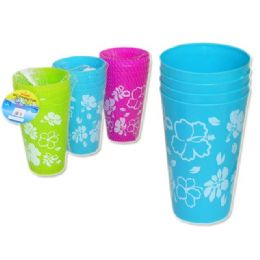 72 Units of 4pc drinking cups - Plastic Drinkware