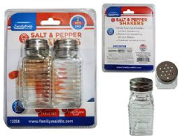 96 Units of 2 Piece Salt And Pepper - Kitchen Gadgets & Tools