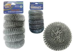 96 Units of 5 Piece Scourer Set - Scouring Pads & Sponges