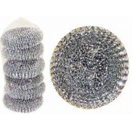96 Units of 6 Piece Set Of Scourer - Scouring Pads & Sponges