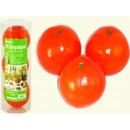 24 Units of Orange 3pc/pk 8.5cm In Contain - Refrigerator Magnets