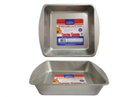 48 Units of Square Cake Pan - Baking Supplies