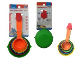 144 Units of 5pc Measuring Cups - Measuring Cups and Spoons
