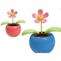 36 Units of Solar Powered Waving Flower Toy - Garden Decor