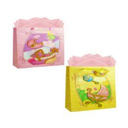 144 Units of Bag Hl Bab 3d 36x27x12.5 3asst Design - Gift Bags