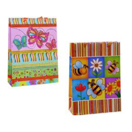 144 Units of Gift Bag 38.5x30x10.5cm 2asst - Gift Bags