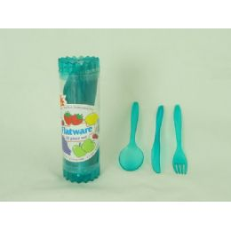 144 Units of CULTERY ST, 24PC.HEAVY DUTYREUSE C - Disposable Cutlery