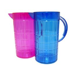 24 Units of Water Pitcher - Plastic Drinkware
