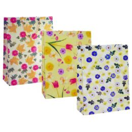 "72 Units of BAG/FLOWER DSIGN16X19X7.5""X.JUMBO - Gift Bags Everyday"