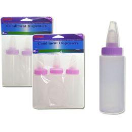 48 Units of MULTI-PURPOSE BOTTLE 3PC 3ASST - Baby Bottles