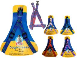 72 Units of Expandable Dog Harness - Pet Collars and Leashes