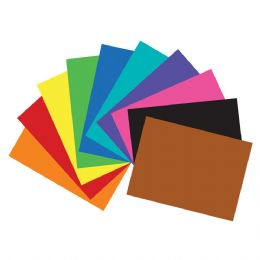 "100 Units of 22"" X 28"" Assorted Color Poster Board - Poster & Foam Boards"