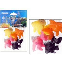144 Units of Goldfish Decoration 4pc - Fishing Items