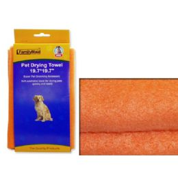 "144 Units of PET DRYING TOWEL 19.7X19.7"" - Pet Grooming Supplies"