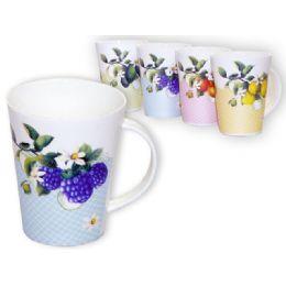 "36 Units of Mug Fruit 3.4diax4.1""h - Coffee Mugs"