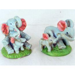 72 Units of ELEPHANT W/ BABIES - Toy Sets