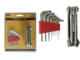 72 Units of 14pc Multipurpose Hex Keys Set - Hex Keys