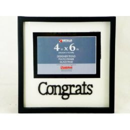 "360 Units of PHOTO FR 4X6"" GRADUATION BLACK - Picture Frames"