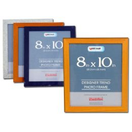"96 Units of PHOTO FRAME 8X10"" 3ASST CLR - Picture Frames"