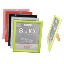 """96 Units of Photo Frame 8*10""""6asst Clr Packing 1/pc 24/ctn - Picture Frames"""
