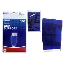 96 Units of 1 Piece Calf Support - Bandages and Support Wraps