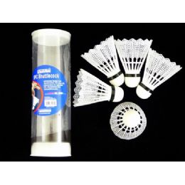 96 Units of BADMINTON 5PC IN PVC BOX - Sports Toys