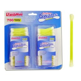 48 Units of COTTON SWABS 700COUNTS - Cotton Balls & Swabs