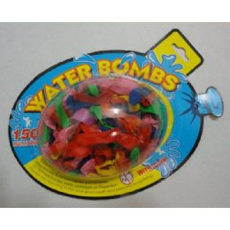 80 Units of 150pc Water Balloons - Balloons & Balloon Holder
