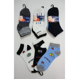 180 Units of Wholesale Bulk - Boys Crew Sock