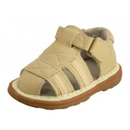 25 Units of Babies Leather Sandals - Toddler Footwear