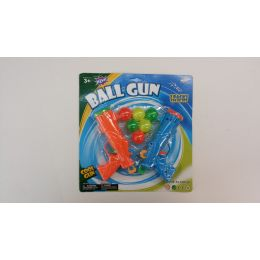 72 Units of 2 Pc Ball Gun Set With 6 Balls - Toy Weapons