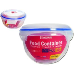 72 Units of Round Food Container - Food Storage Containers