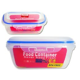 72 Units of Rectangle Food Container - Storage Holders and Organizers
